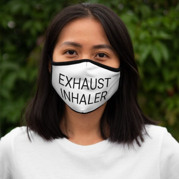 EXHAUST INHALER Fitted Poly Face Mask