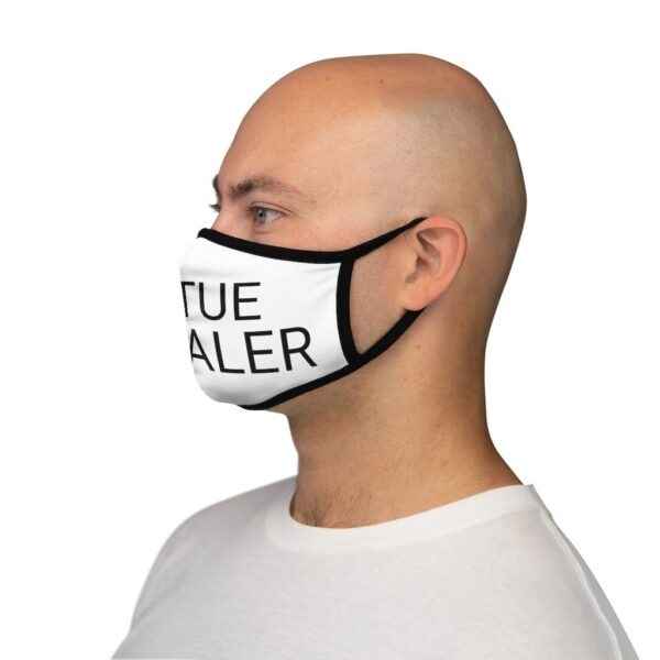 VIRTUE  SIGNALER Fitted Poly Face Mask