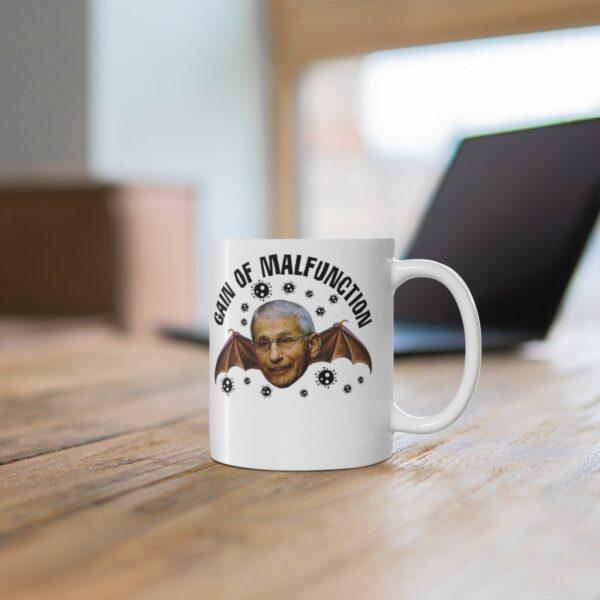 GAIN OF MALFUNCTION  - White mug 11oz