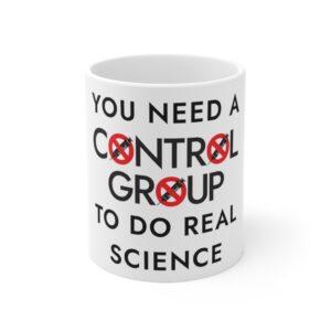 CONTROL GROUP Motto Ceramic Mug 11oz - White