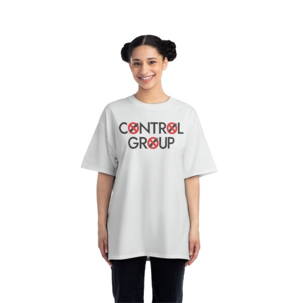 CONTROL GROUP - Beefy Tee - White - Motto on Back